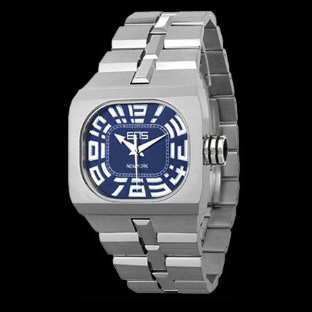 EOS BLOK ENGINEERING BLUE FACE WATCH ,  - EOS NEW YORK, The Cambridge Collection
