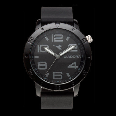 DIADORA 2.0 BLACK ANALOG WATCH