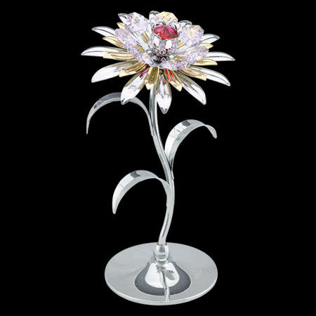 CRYSTOCRAFT SWAROVSKI GIANT SUNFLOWER