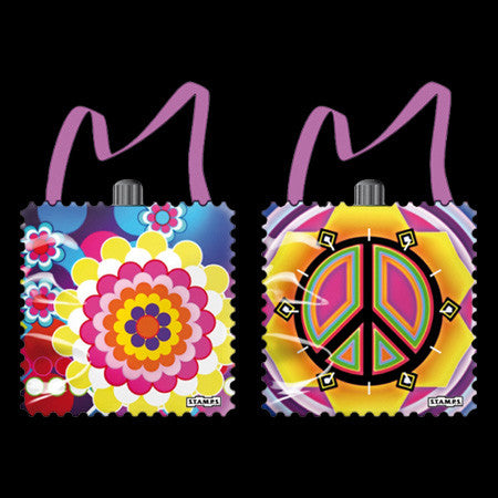 PEACE STAMPS WATCH BAG