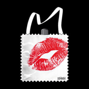 KISS ME STAMPS WATCH BAG