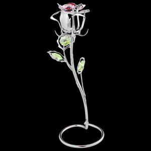 CRYSTOCRAFT SWAROVSKI ROSE STEM