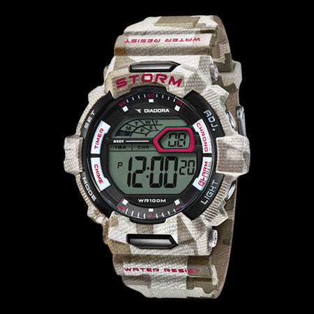 DIADORA STORM DESERT CAMO DIGITAL WATCH