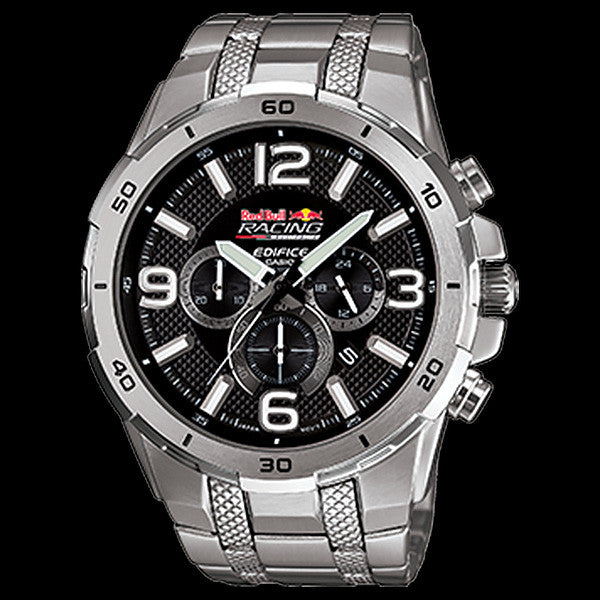 CASIO EDIFICE V8 SUPERCARS RED BULL RACING AUSTRALIA LIMITED EDITION WATCH EFR538AR-1A