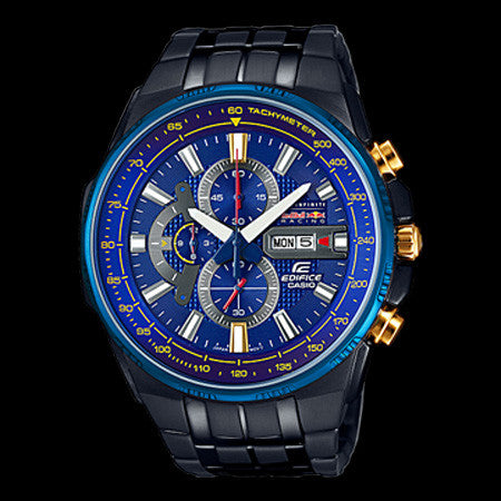 CASIO EDIFICE X BLUE DIAL INFINITI RED BULL RACING LIMITED EDITION WATCH EFR549RBB-2A