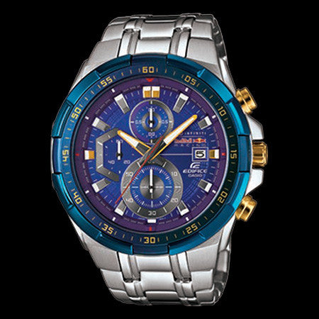 CASIO EDIFICE X BLUE DIAL INFINITI RED BULL RACING LIMITED EDITION WATCH EFR539RB-2A