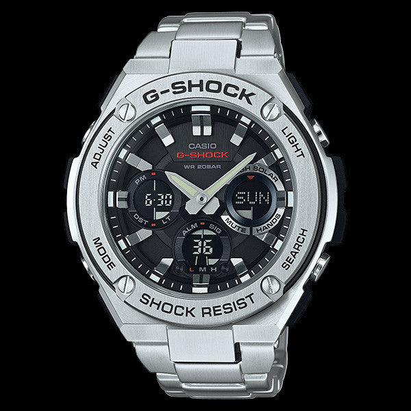 CASIO G-SHOCK G-STEEL WATCH GSTS110D-1A