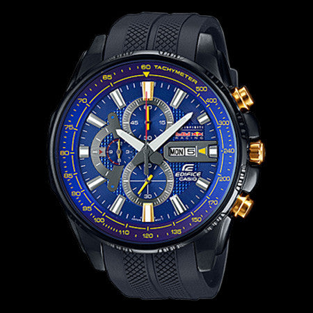 CASIO EDIFICE X BLUE DIAL INFINITI RED BULL RACING LIMITED EDITION WATCH EFR549RBP-2A