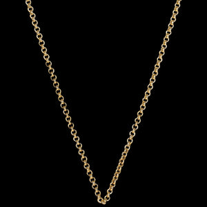 KAGI GOLD STEEL ME PETITE 80CM NECKLACE