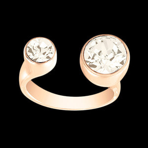 LOLA & GRACE TOI AND MOI ROSE GOLD RING