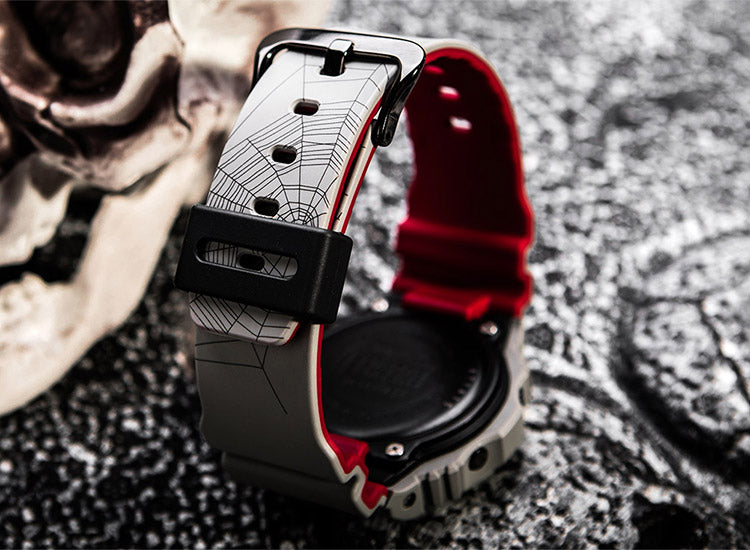 CASIO G-SHOCK SNEAKER FREAKER REDBACK LIMITED EDITION AUSTRALIAN EXCLUSIVE COFFIN BOX WATCH DW5700SF-1D