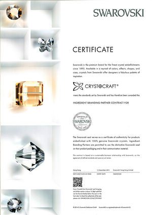 CRYSTOCRAFT SWAROVSKI PISCIES SYMBOL