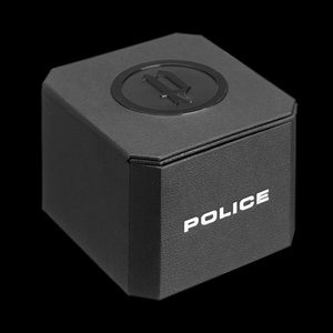 POLICE MEN'S ARMOR BLACK SILICONE WATCH