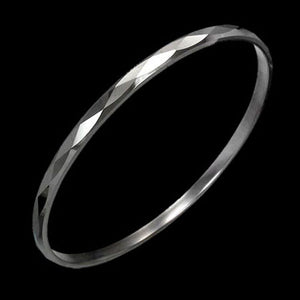 TUNGSTEN CARBIDE FACET CUT BRACELET
