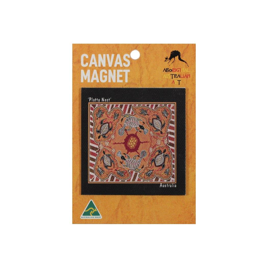 Canvas Magnet - First Nations Art Collection 02