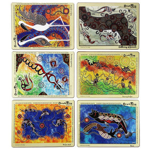 Dreamtime Prints Placemat Set x 6