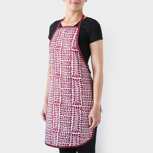 Woman wearing Australian made apron gift