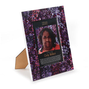 Cindy Wallace Wooden Photo Frame