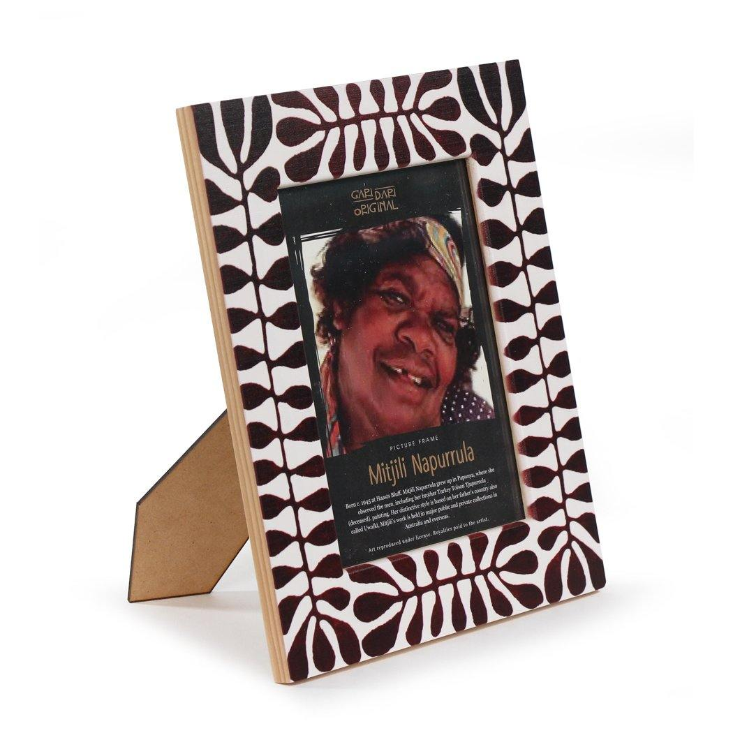 Mitjili Napurrula Wooden Photo Frame Art