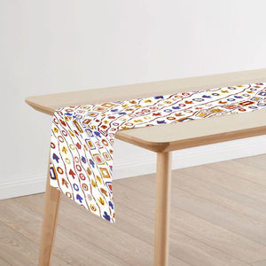 Australian Table Runner Set Featuring Aboriginal Art