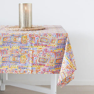Table Cloth / Supper Cloth Felicity Robertson Yellow
