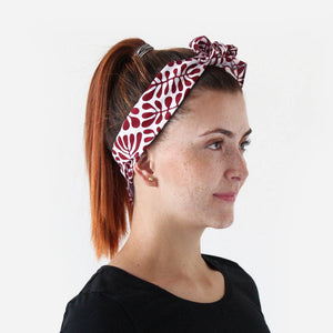 woman wearing Australian made Bandana gift