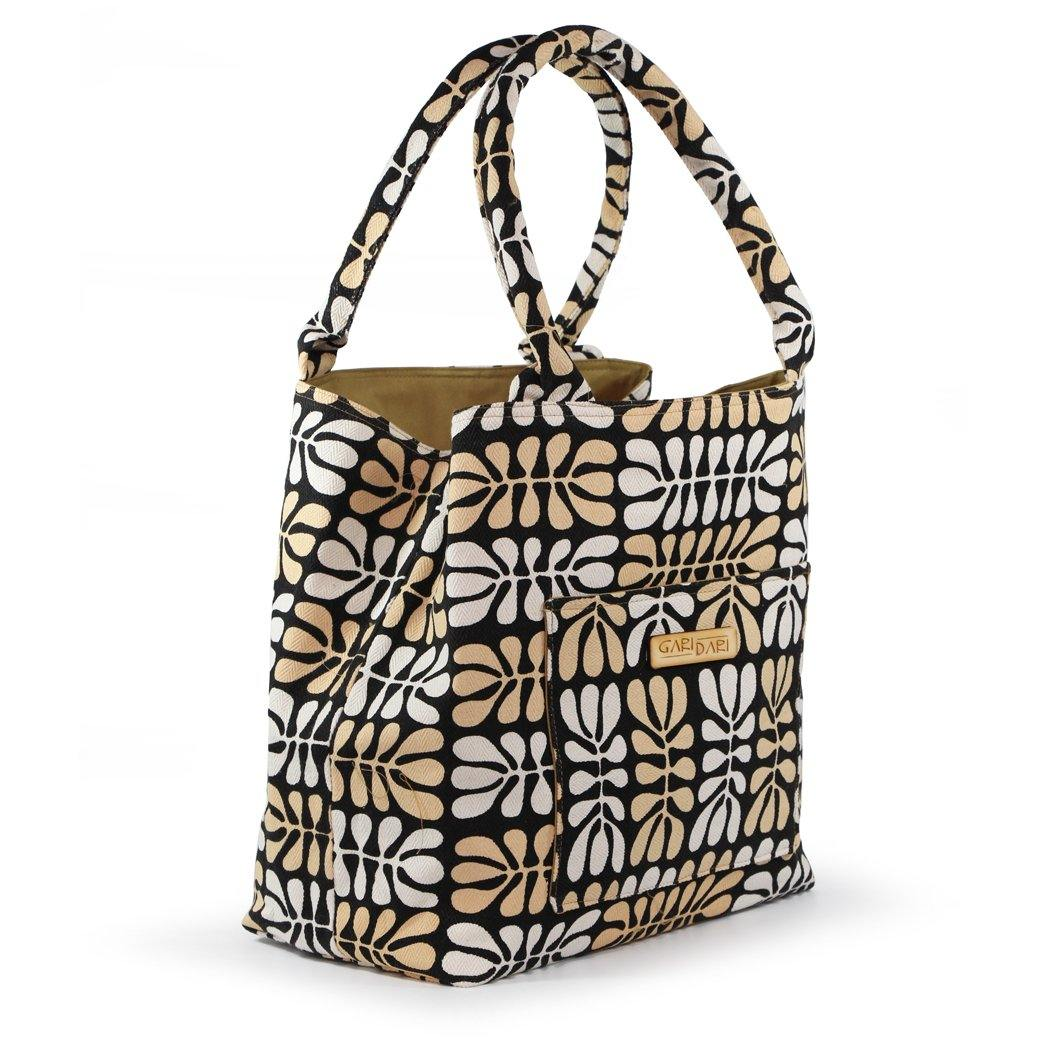 Australian made tote bag featuring indigenous art by Mitjili Napurrula