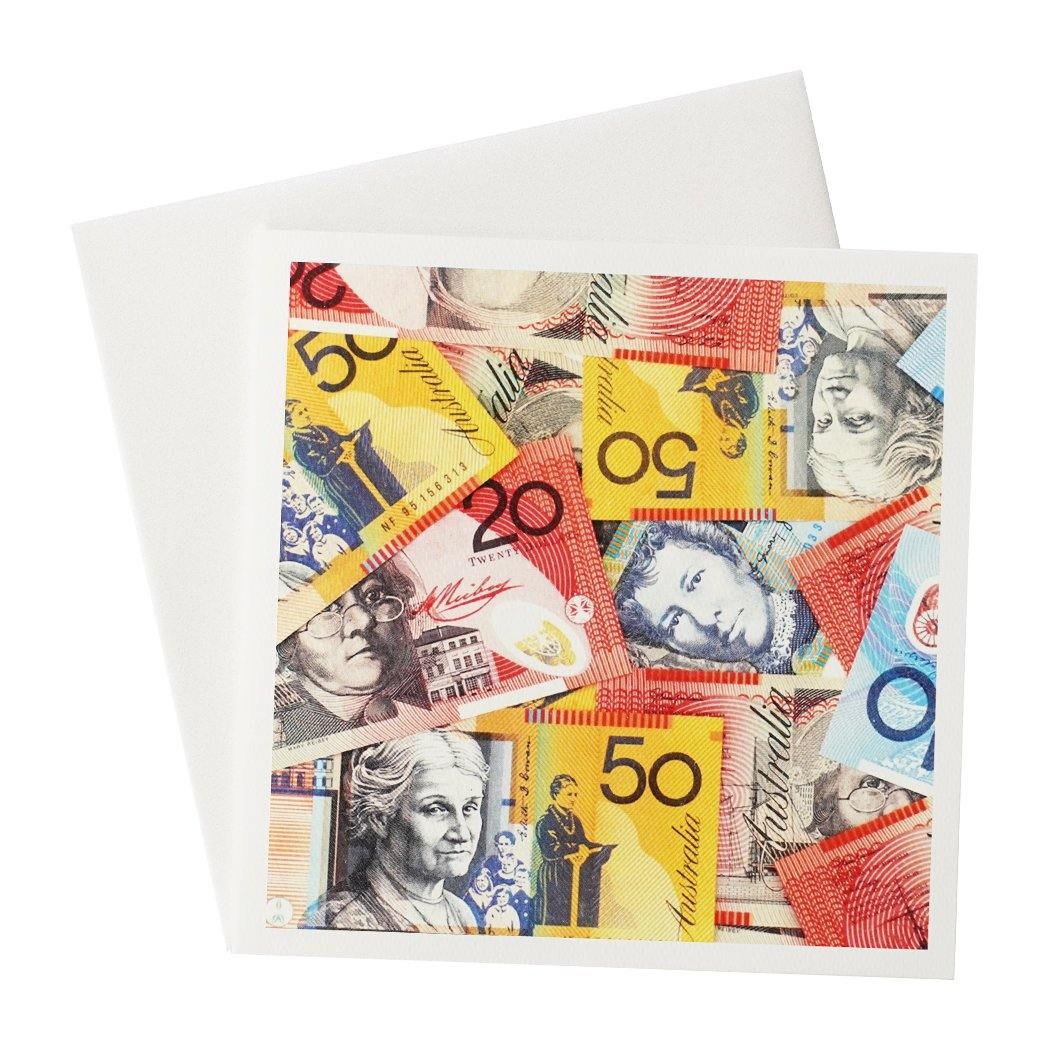 Australian Notes Greeting Card 01