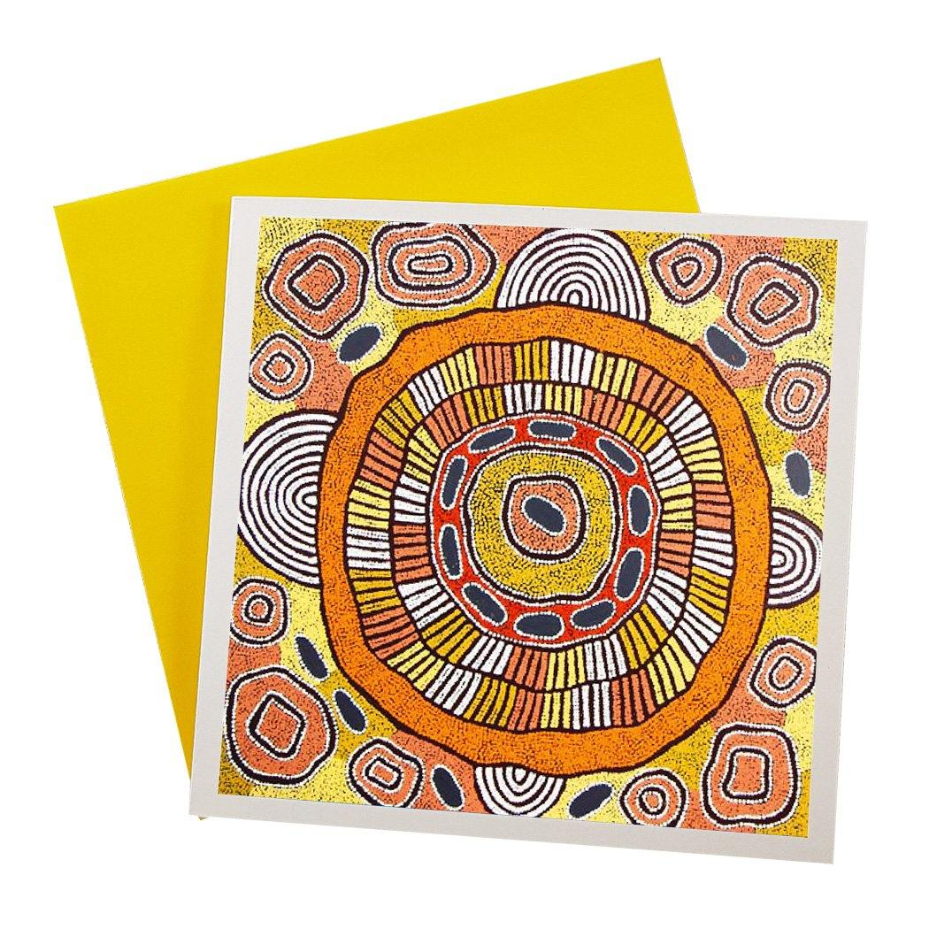 Australian Made Greeting Card Featuring authentic art by Debra McDonald