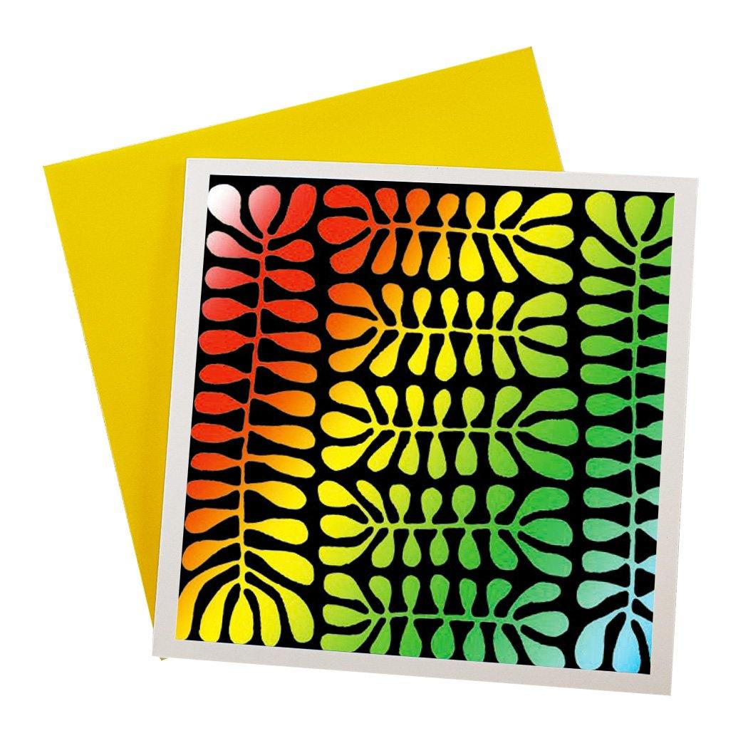 Australian Greeting Card Souvenir Featuring Psychedelic Art