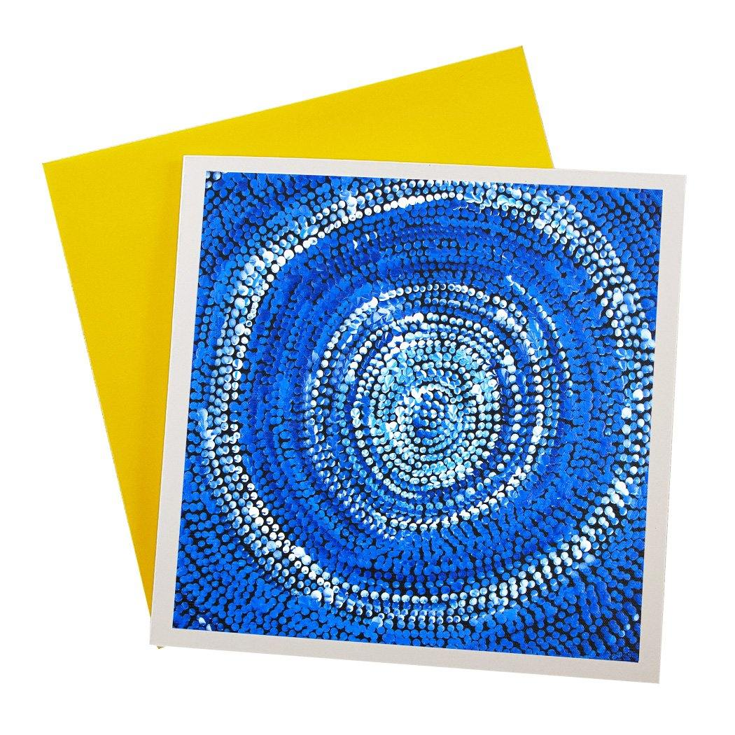 Australian Greeting Card by local indigenous artists