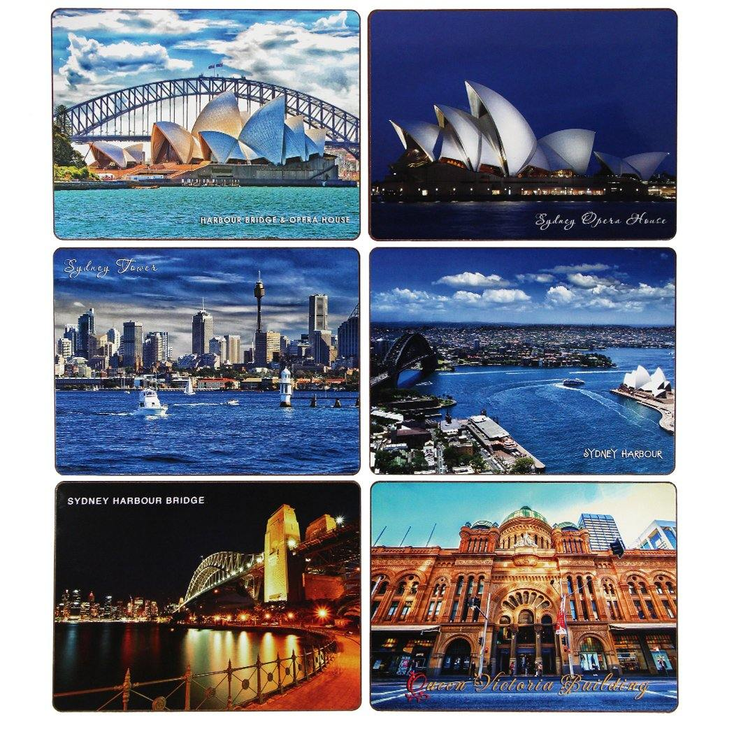 Mudio Artistry Range Placemats Collection x 6 - Views of Sydney