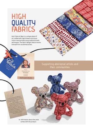Australian Koala Bear Toy Brochure with features