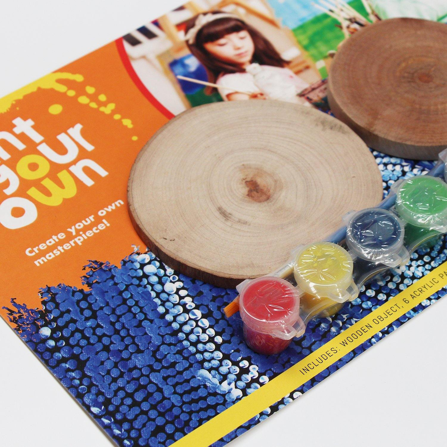 Paint Your Own Wooden Coasters