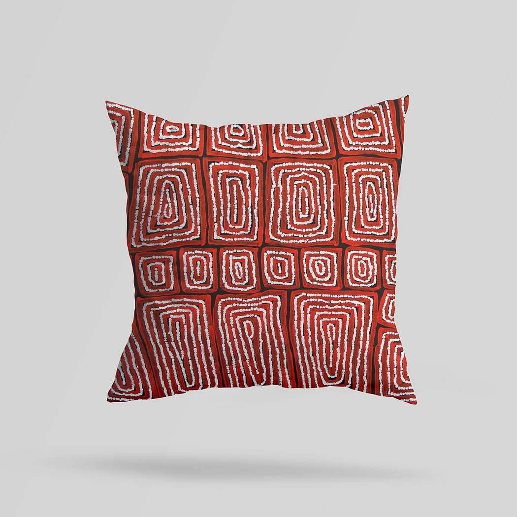 Thomas Tjapaltjarri Australian Cushion Cover