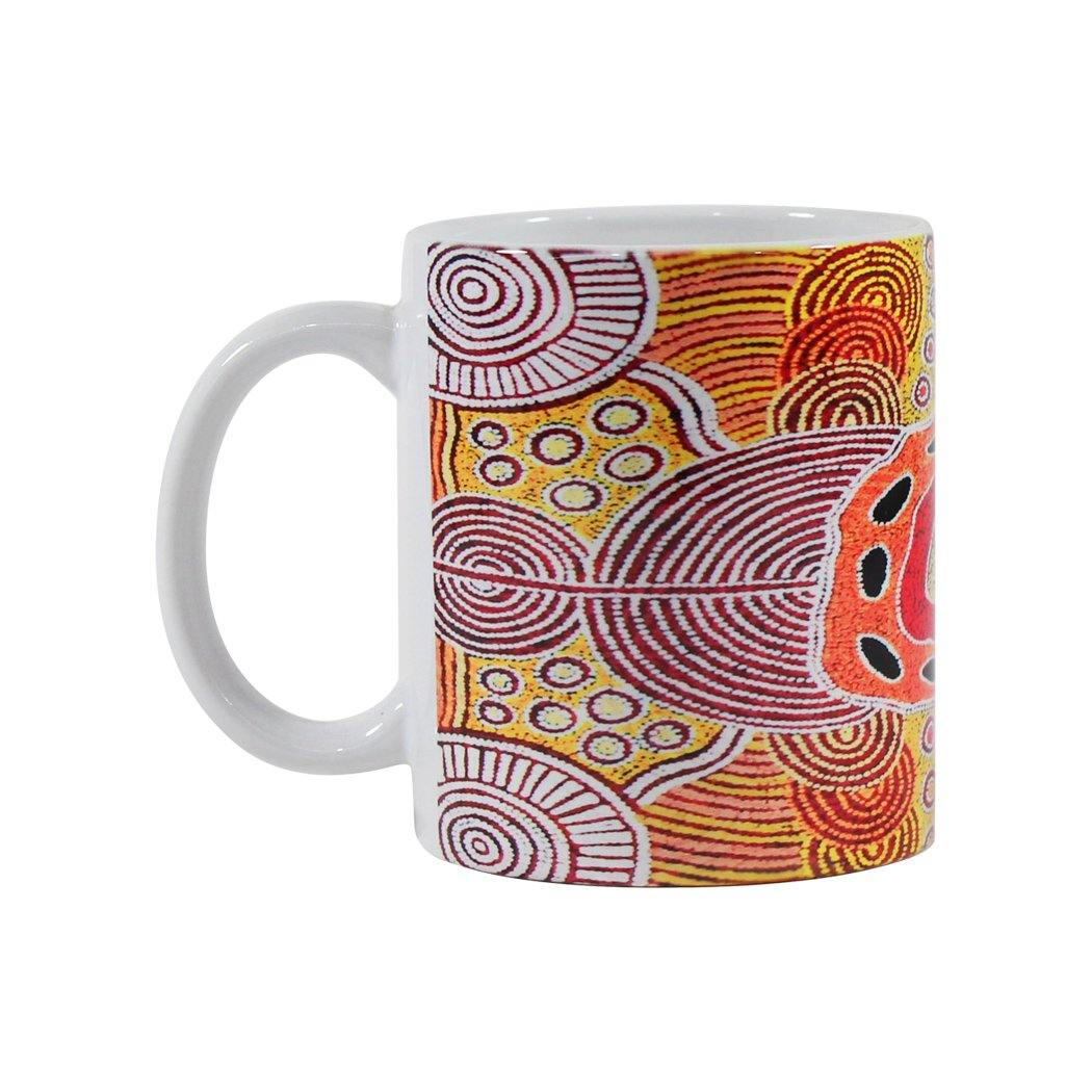 Western Desert Collection Mug - Debra McDonald Nangala