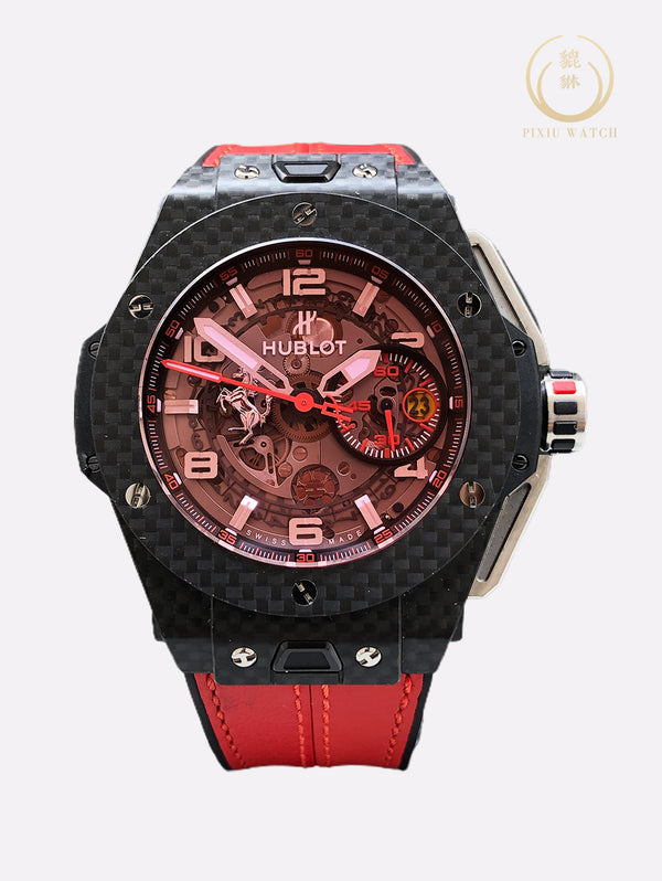 "Hublot Big Bang Ferrari ""Red Magic Carbon"" 1,000 Limited"