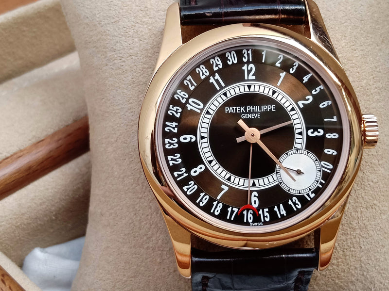Patek Phillipe Calatrava 6000R-001 Rose Gold