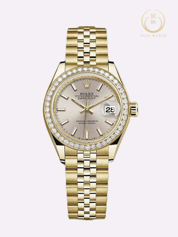 Rolex Lady Datejust Diamond Yellow Gold