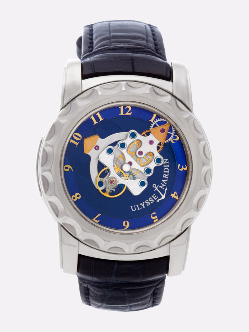 Ulysse Nardin Freak Tourbillon White Gold 18k