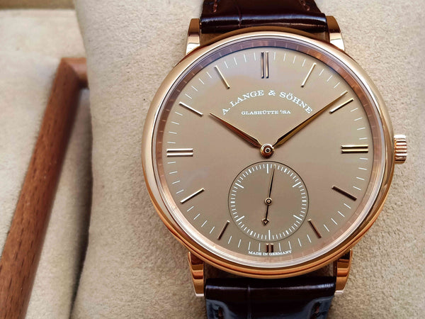 "A.Lange & Söhne Saxonia ""Ginza Boutiques Edition"" Rose Gold"