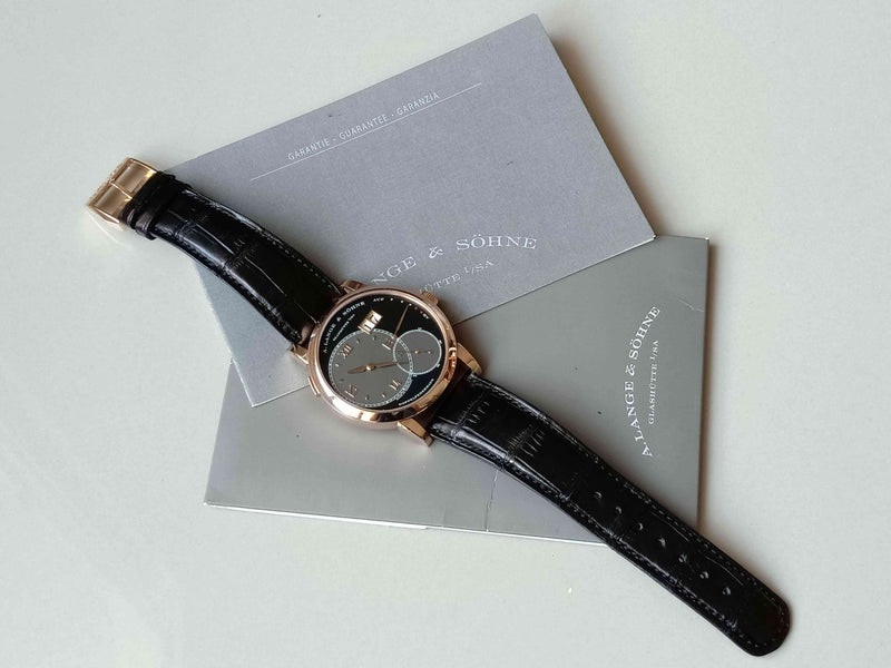 A.Lange & Söhne Grand Lange 1 Rose Gold Black Dial