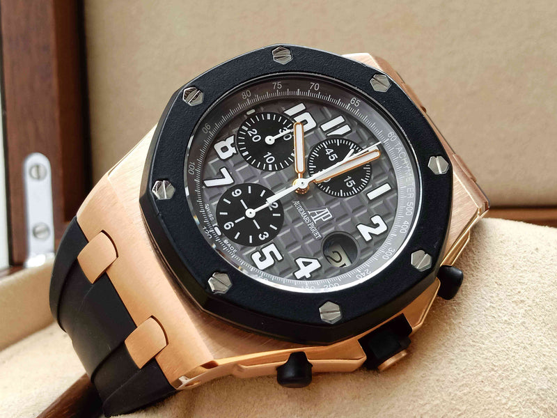 Audemars Piguet Royal Oak Offshore Rubber Clad Rose Gold