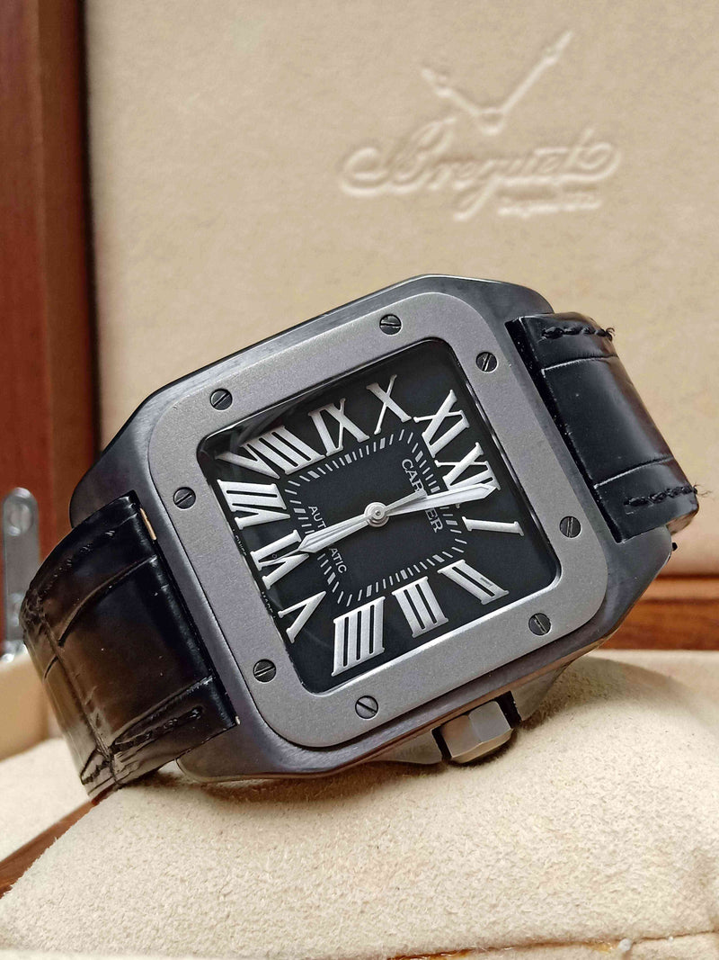 Cartier Santos XL All Black PVD