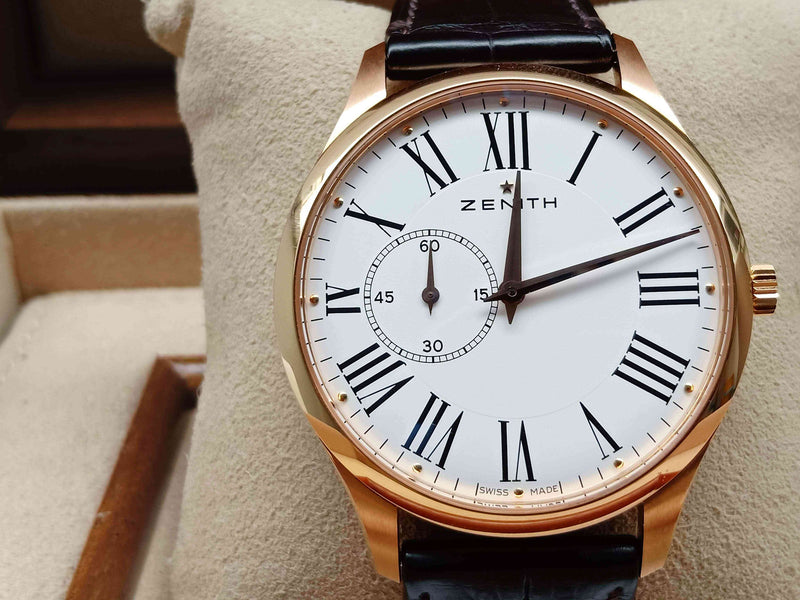 Zenith Elite Ultra Thin Rose Gold