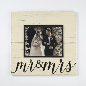Mud Pie Mr & Mrs Deluxe Frame