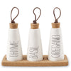 Spice Bottle Trio Set