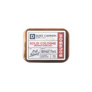 Duke Cannon Bourbon Solid Cologne