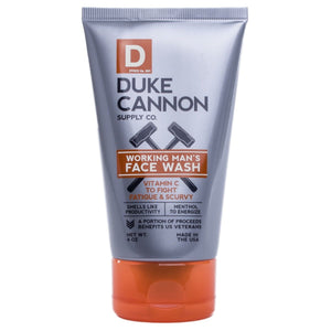 Duke Cannon Working Man Face Wash
