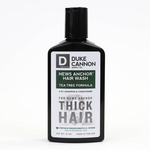 Duke Cannon 2-in-1 Hair Wash Tea Tree